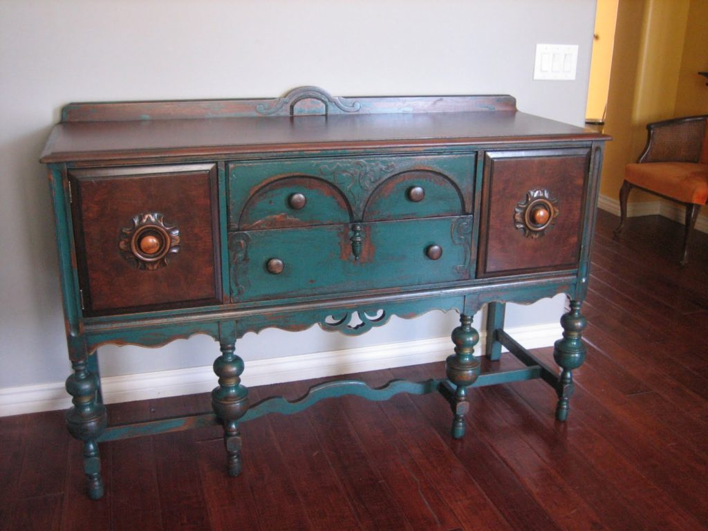 painted buffet sideboard shabby chic furniture. Black Bedroom Furniture Sets. Home Design Ideas