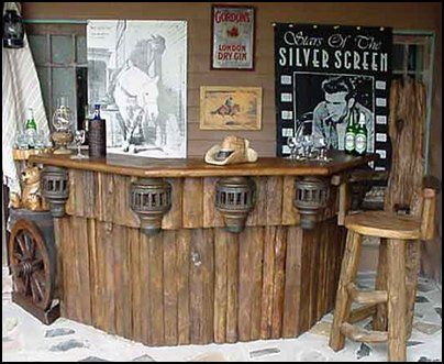 Rustic furniture - bar